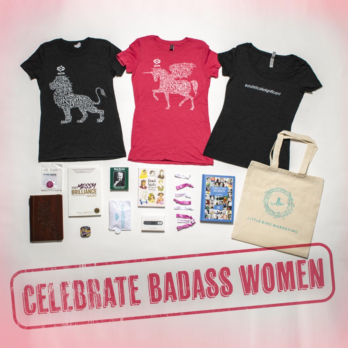 The Badass Women Giveaway