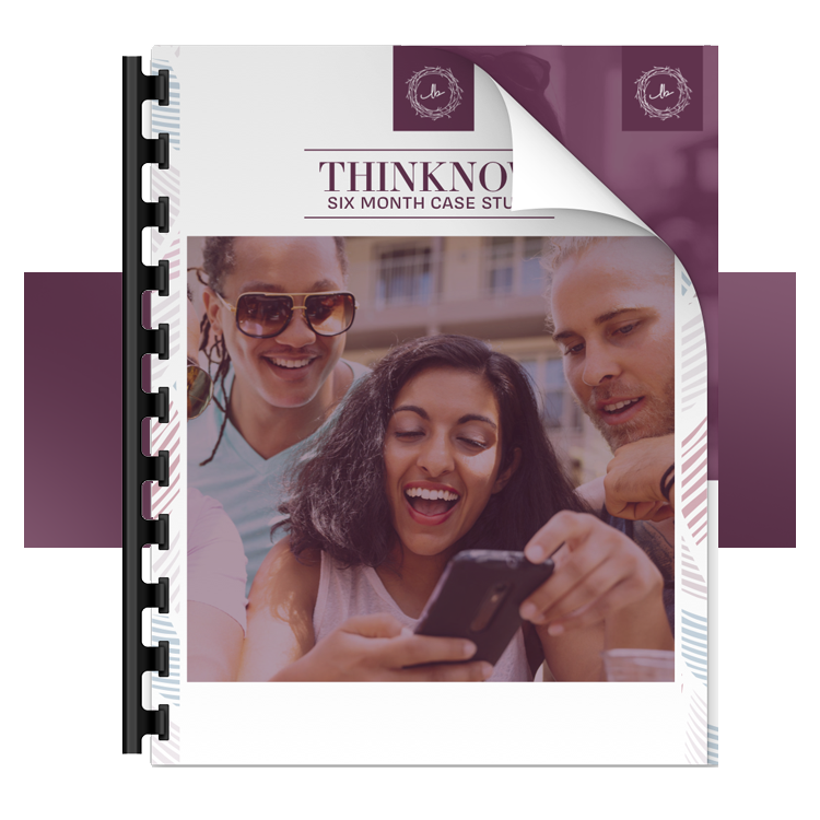Download the ThinkNow case study by Little Bird Marketing