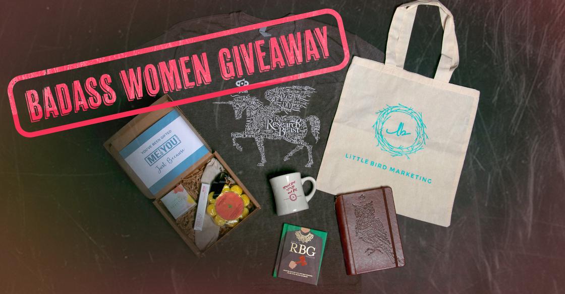 Badass Women Giveaway